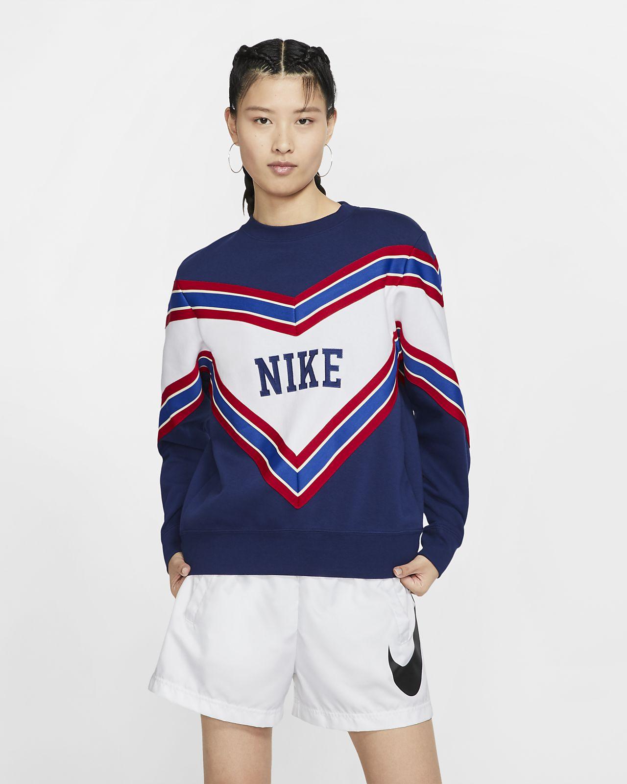 Nike Sportswear NSW Fleece-Rundhalsshirt für Damen