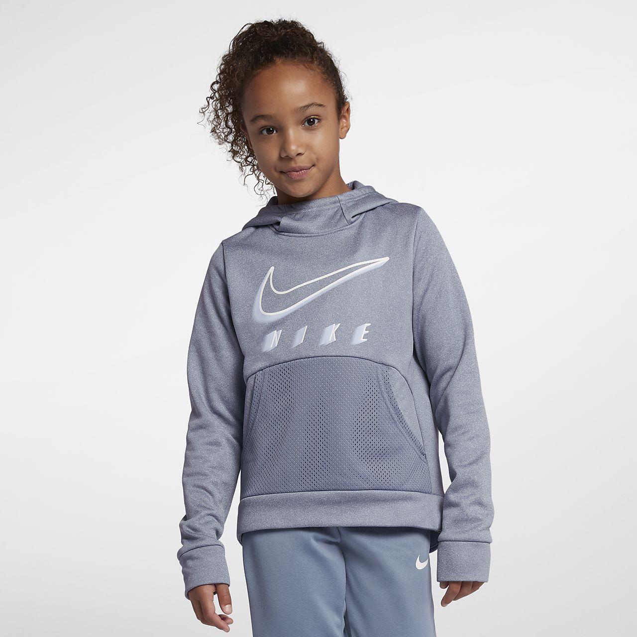 7fcfc6d848 Nike Therma Big Kids' (Girls') Training Pullover Hoodie. Nike.com