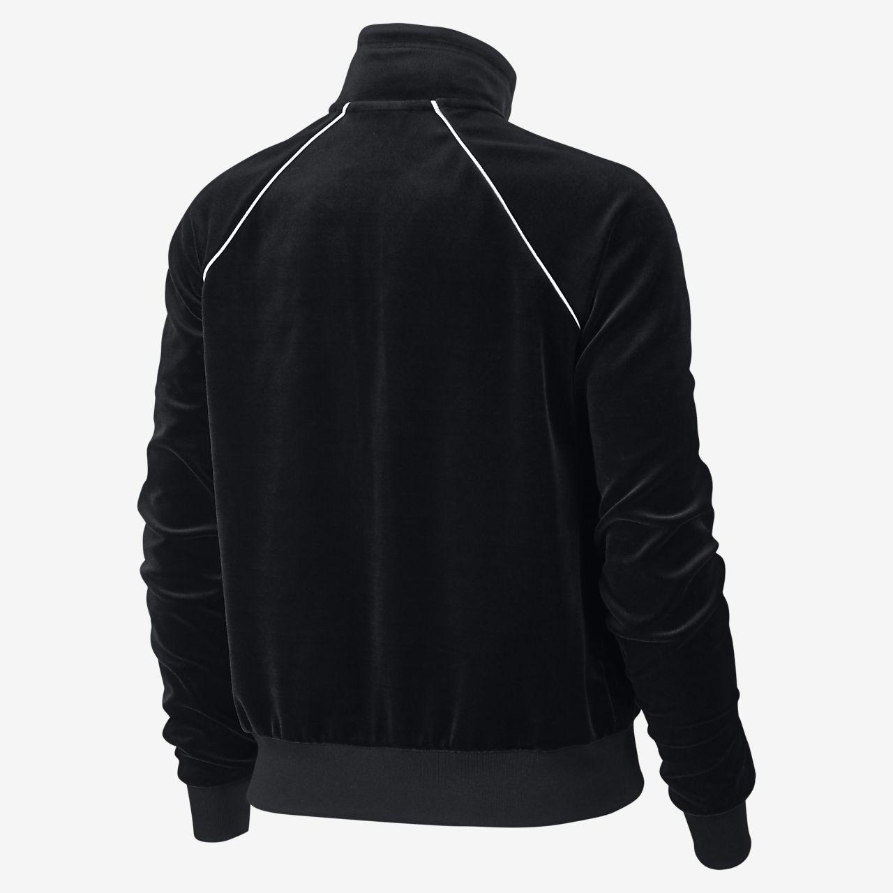 5cf85159b Nike Sportswear Women's Velour Track Jacket. Nike.com AU