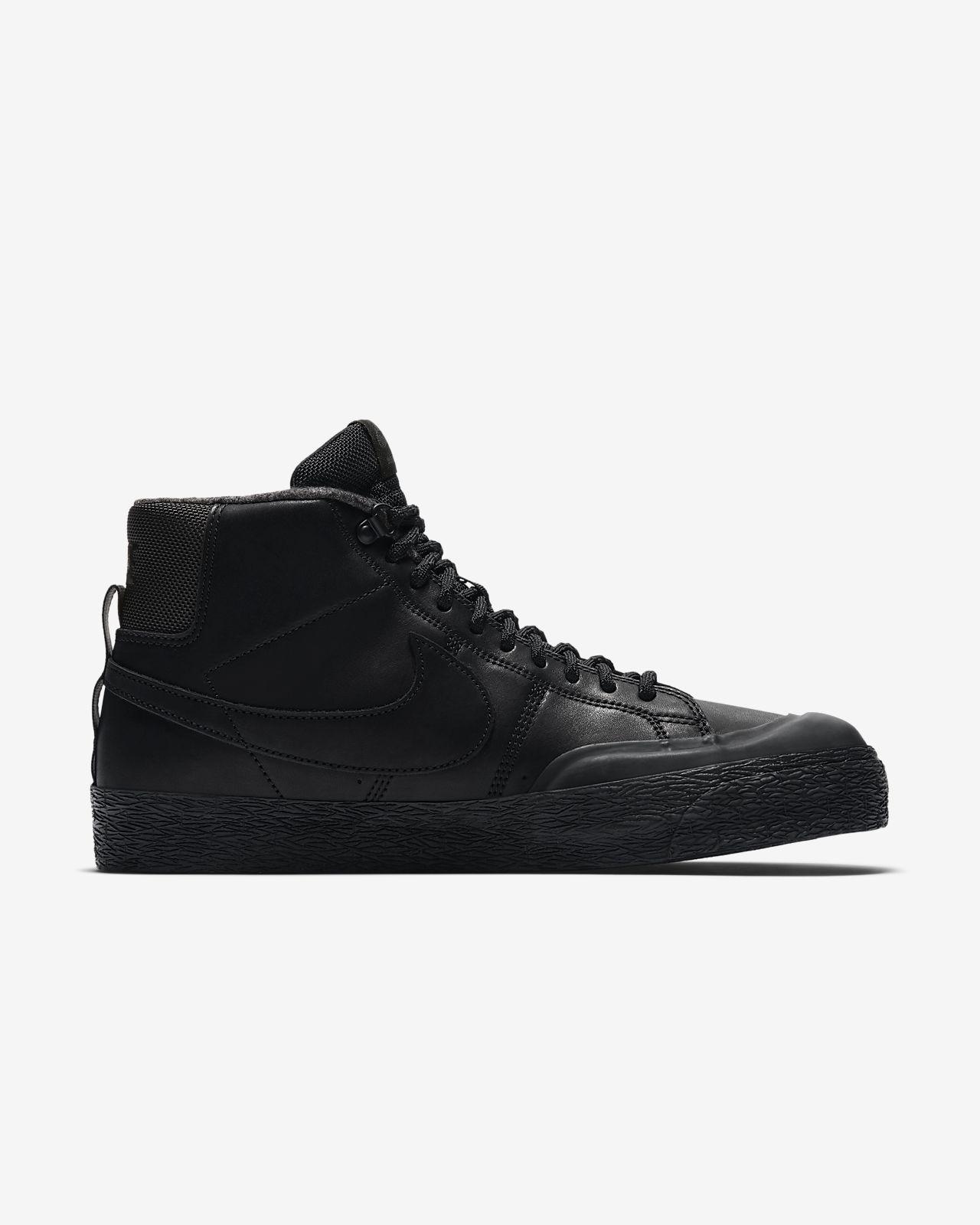 Nike SB Zoom Blazer Mid XT Bota Men's Skateboarding Shoes Black vM3149N