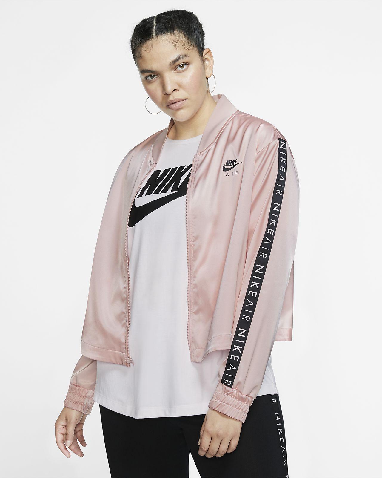 Nike Air Women's Satin Track Jacket (Plus Size)