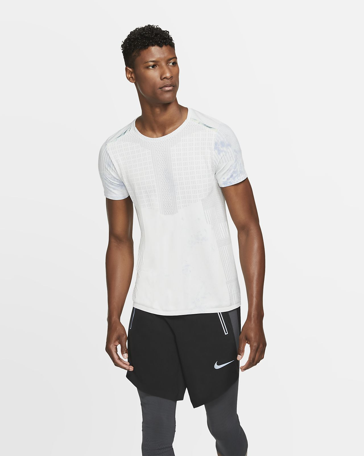 Prenda para la prte superior de manga corta para hombre Nike Tech Pack