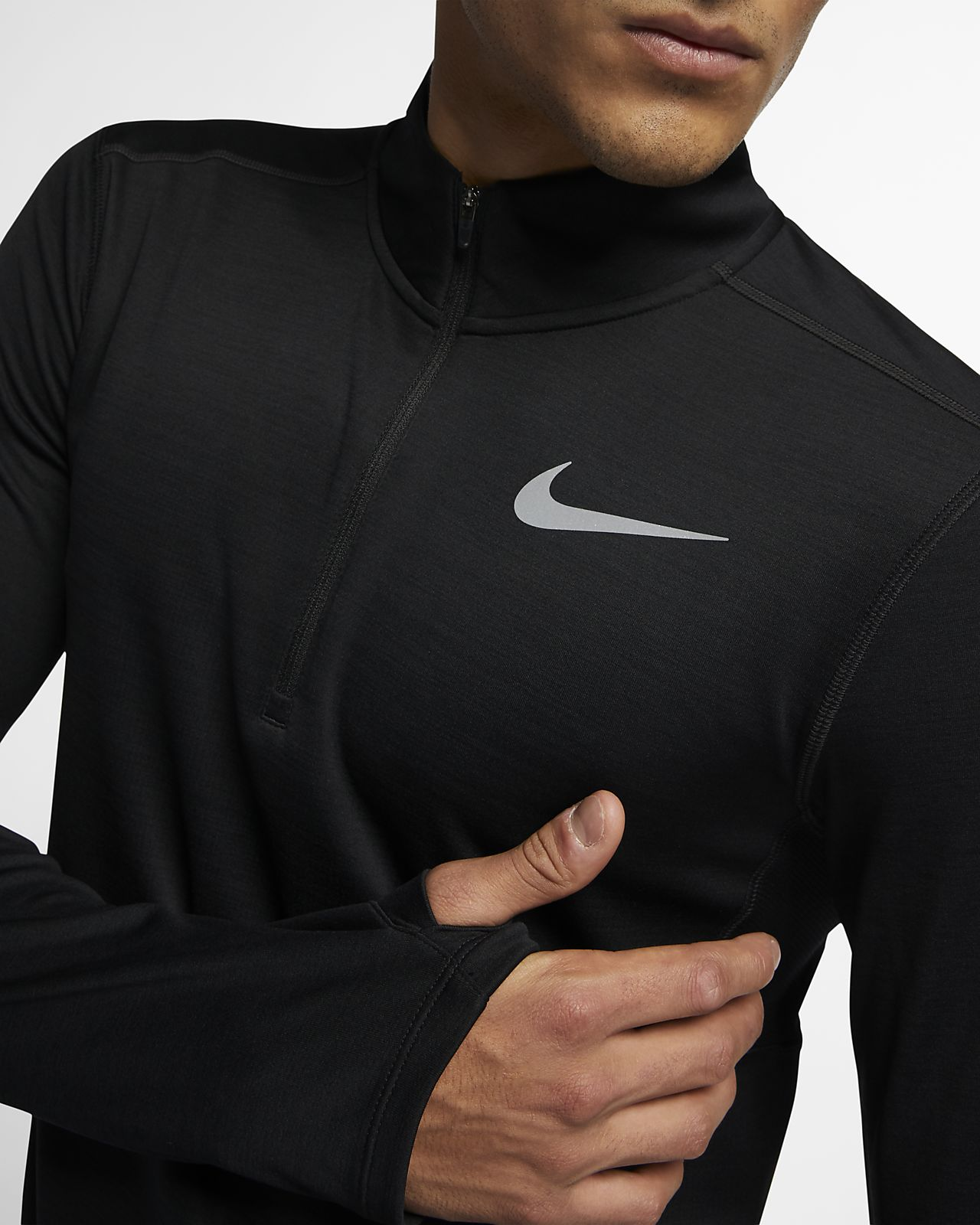 74e7c2d44 Męska koszulka do biegania z zamkiem 1/2 Nike Pacer. Nike.com PL