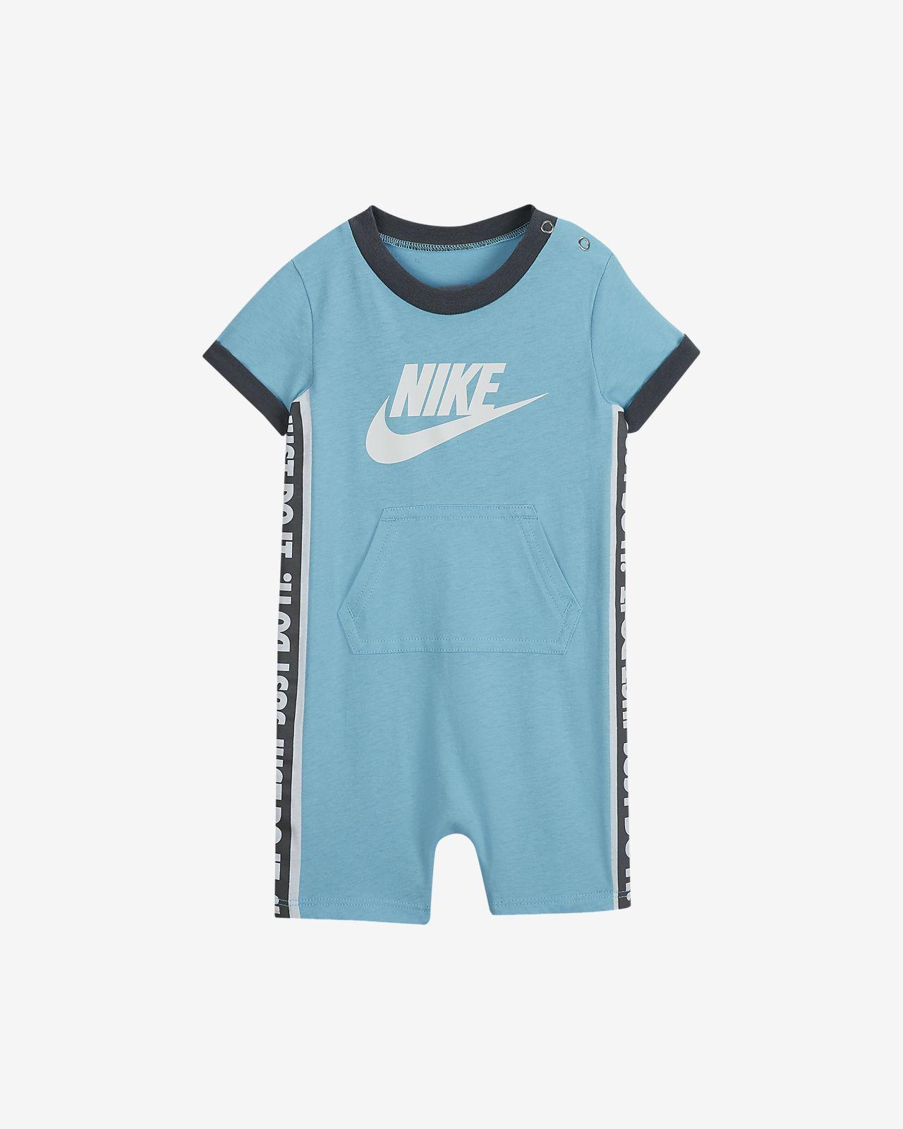 Nike JDI Baby (0–9M) Printed Romper