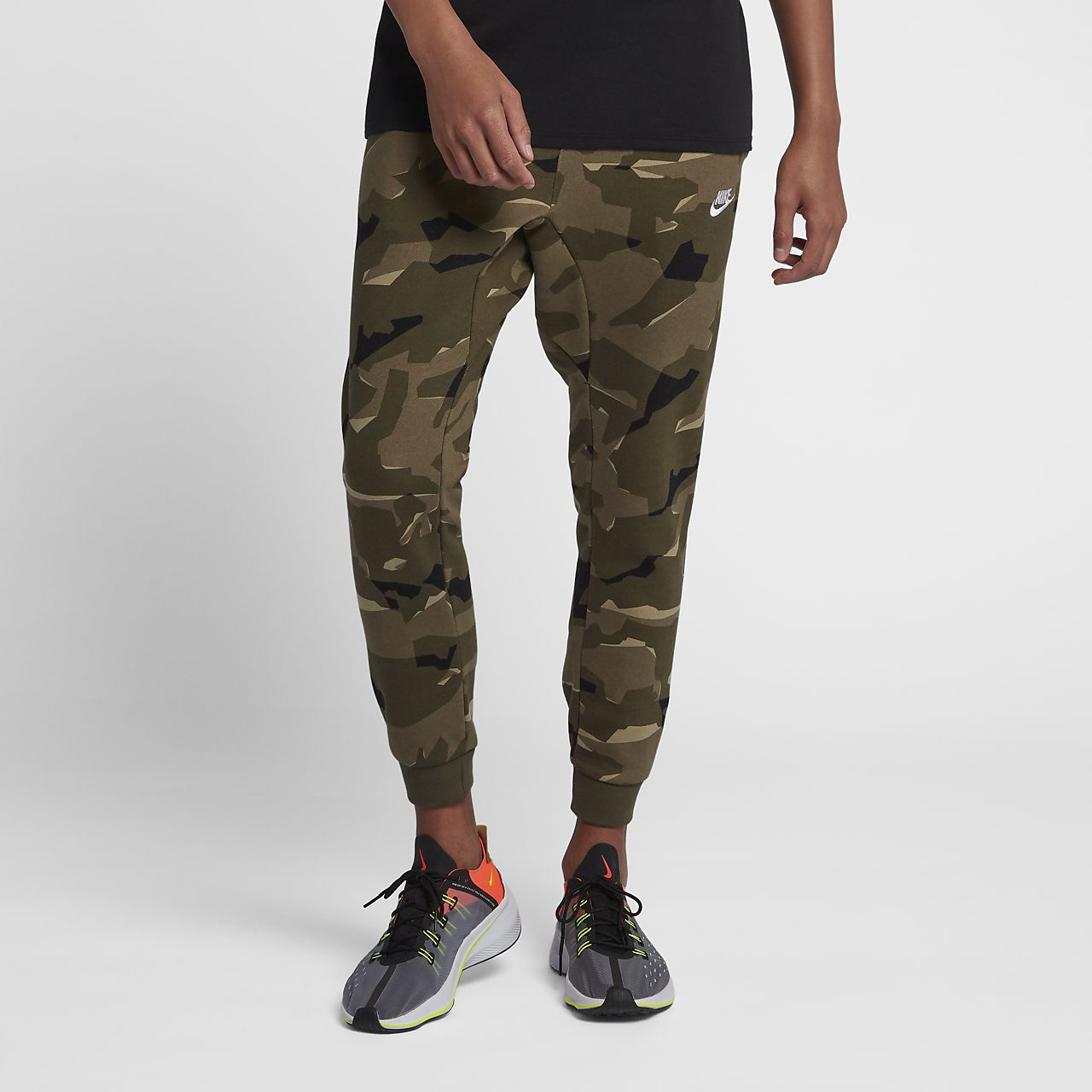Nike Sportswear Club Men's Camo Fleece Joggers