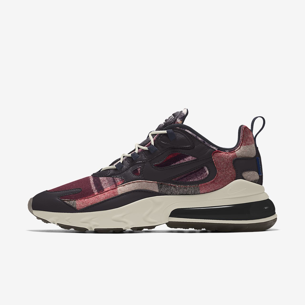 Nike Air Max 270 React Pendleton By You Custom Women's Shoe