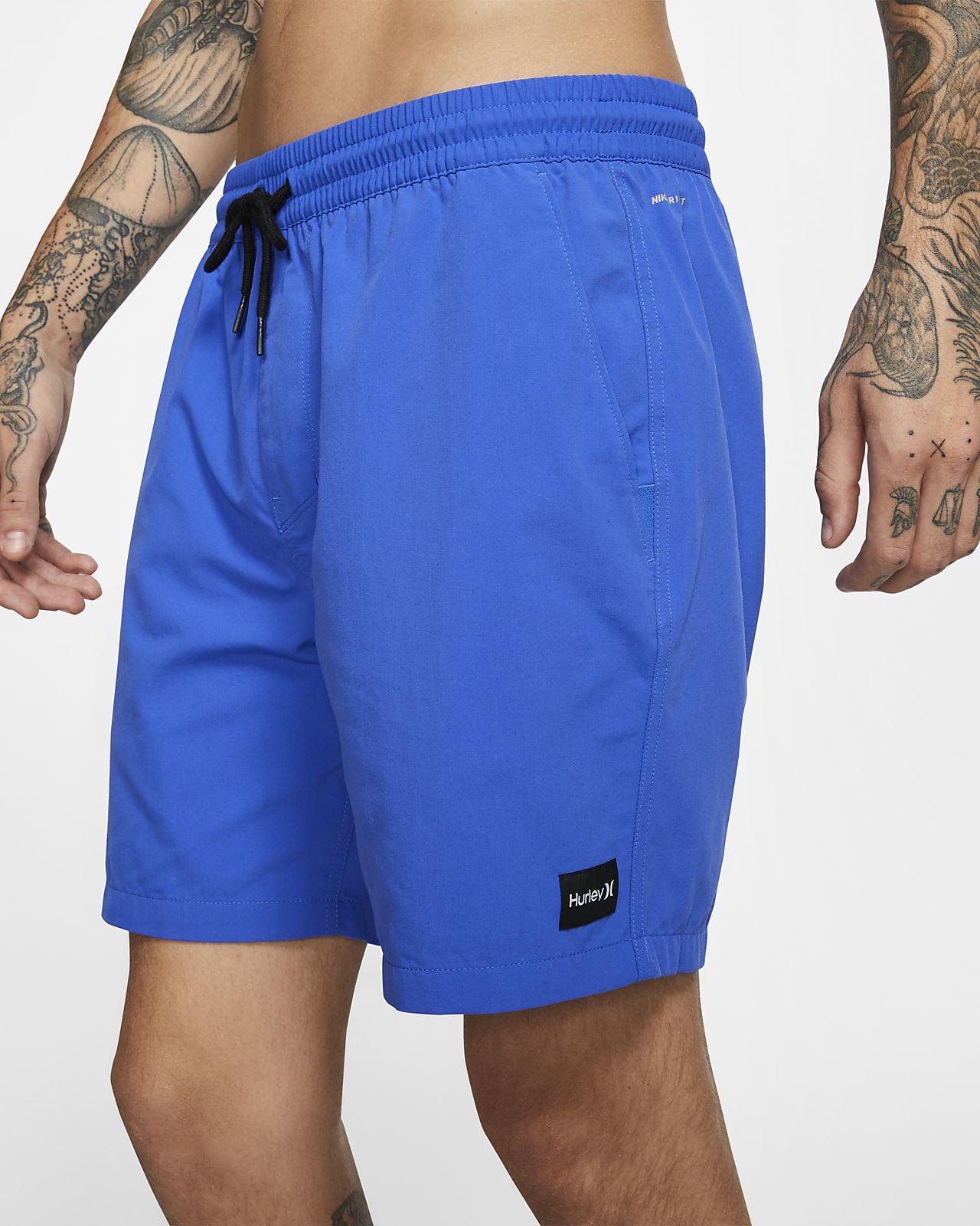 Hurley Dri-FIT Convoy Volley-shorts (43 cm) til mænd