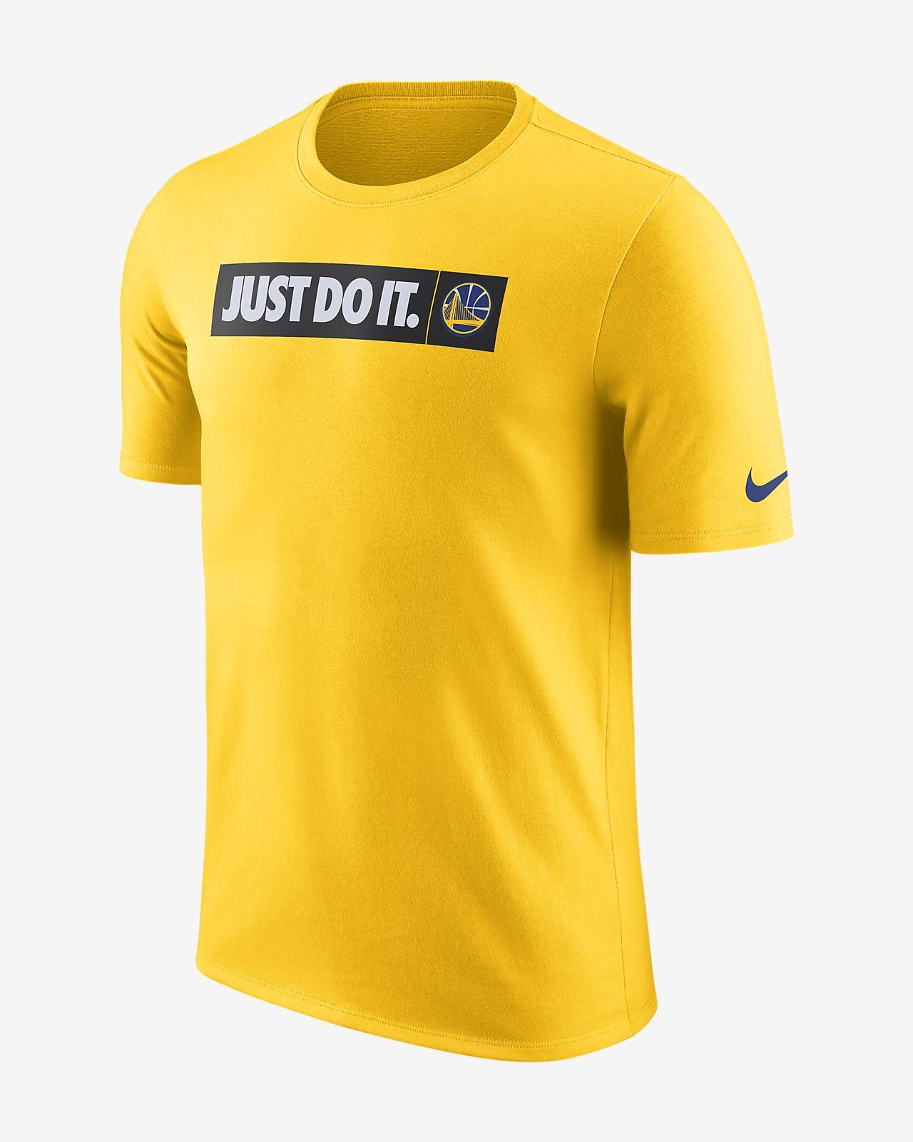 เสื้อยืด NBA ผู้ชาย Golden State Warriors Nike Dri-FIT