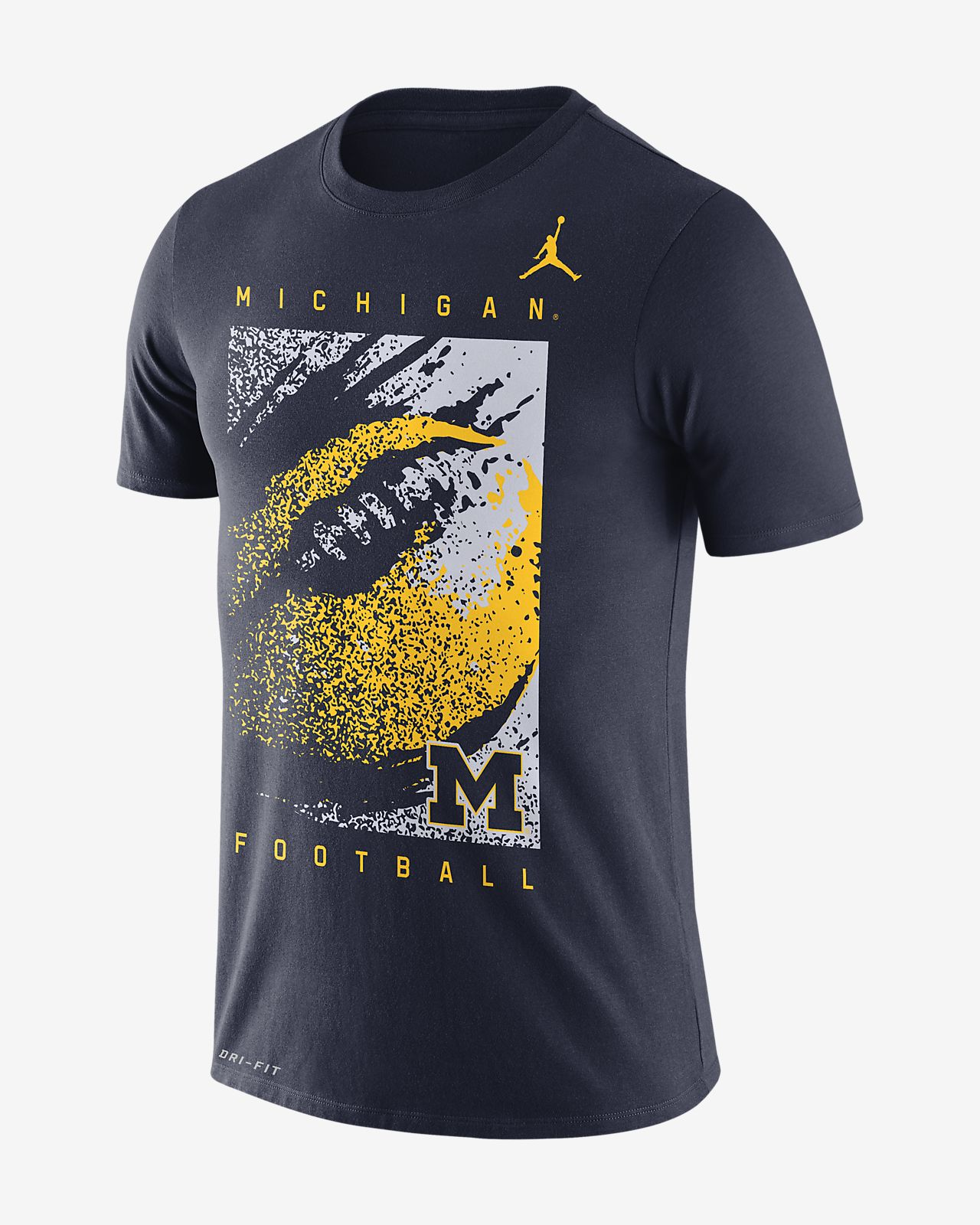 c1cd7e618dd8 Jordan College Dri-FIT (Michigan) Men s T-Shirt. Nike.com