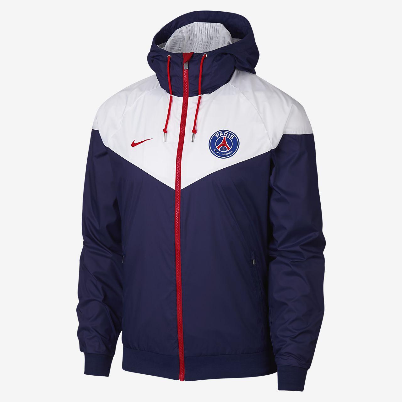 74d784d2bb Paris Saint-Germain Windrunner Men s Jacket. Nike.com AT