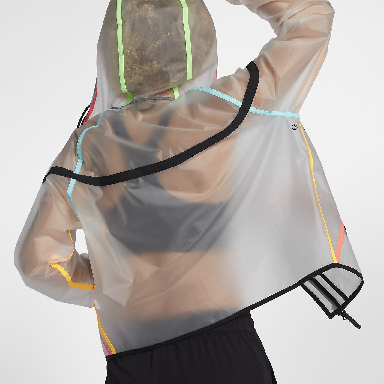 Nike jacke transparent