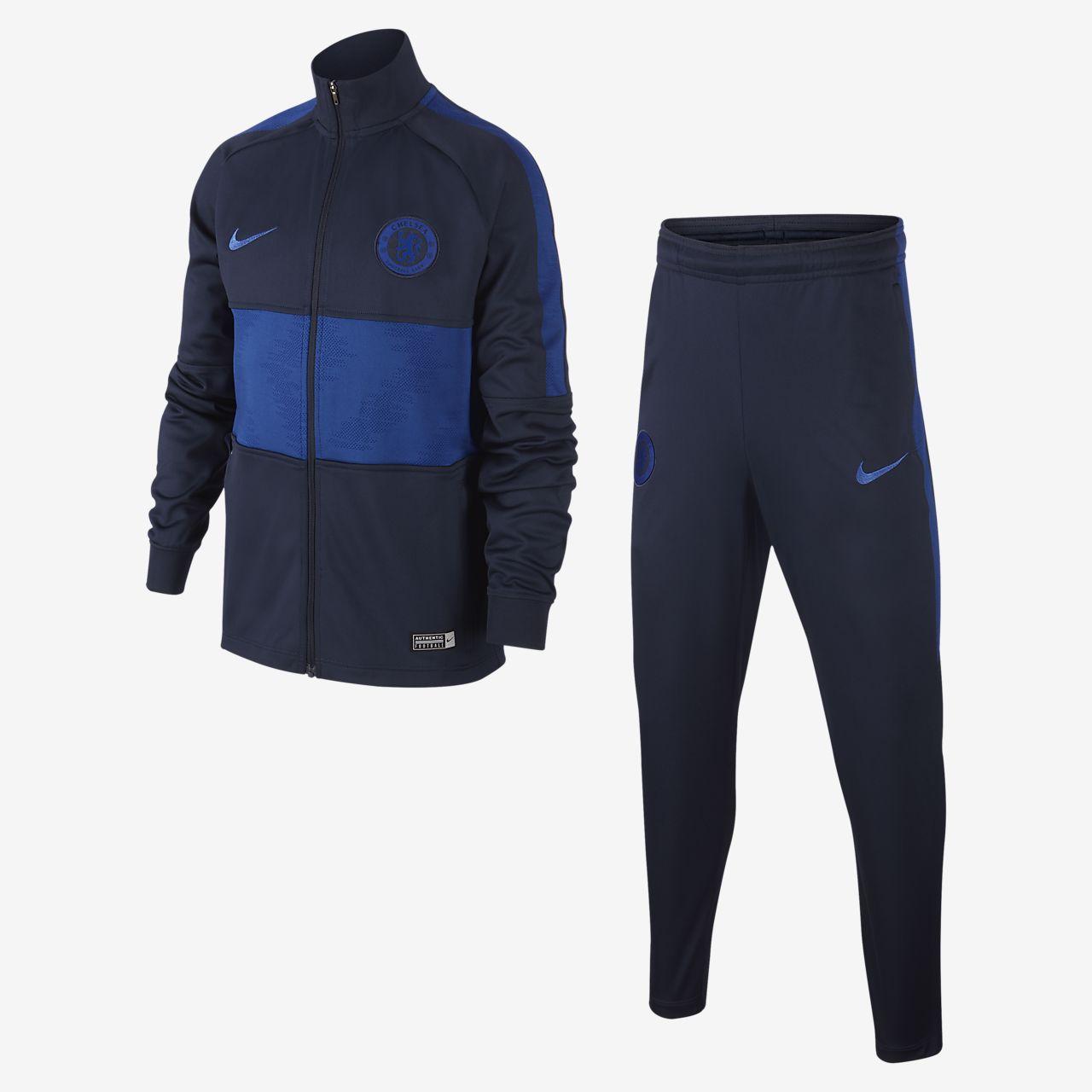 Chelsea FC Strike Fußball-Trainingsanzug für Kinder