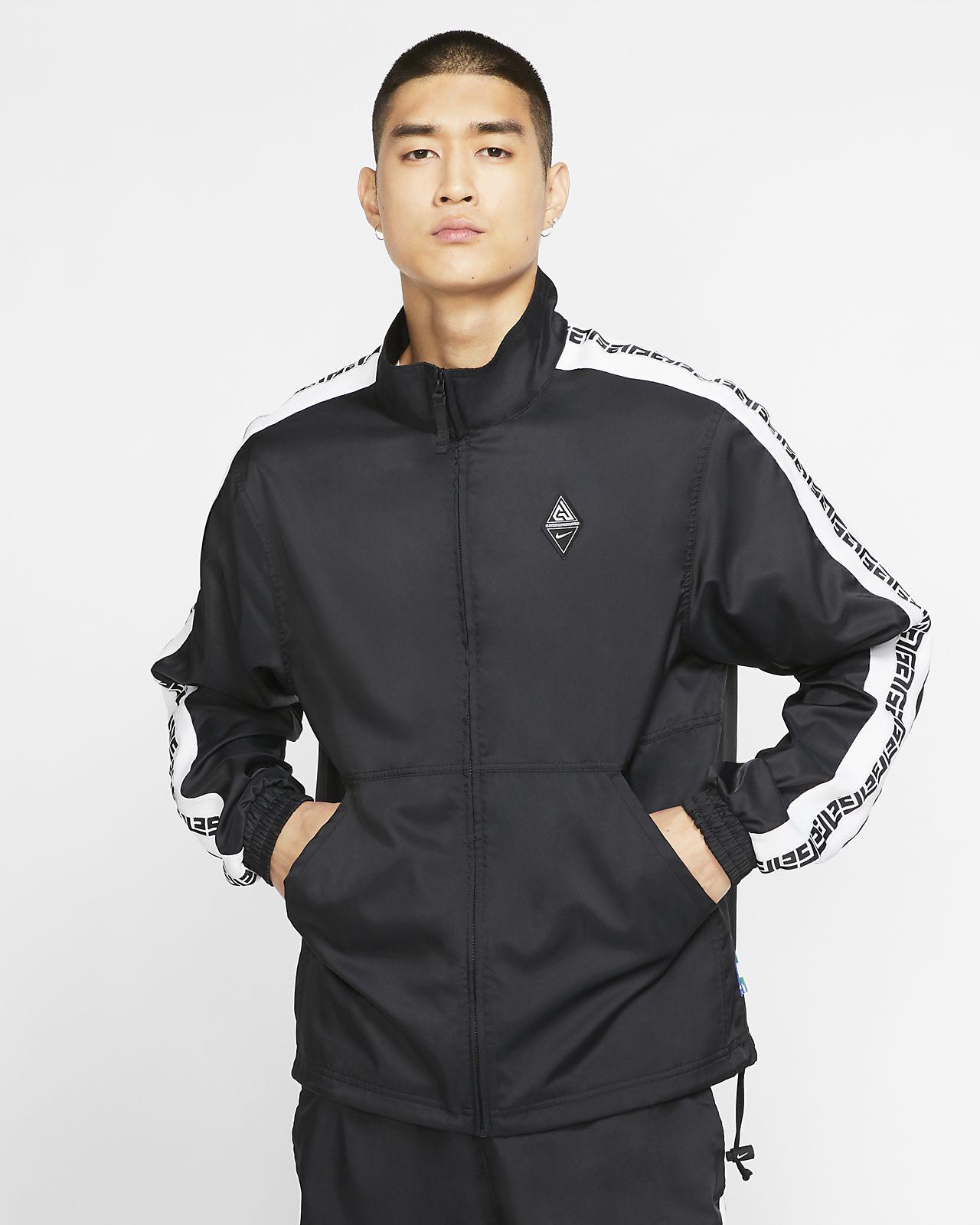 Track jacket da basket con logo Giannis - Uomo