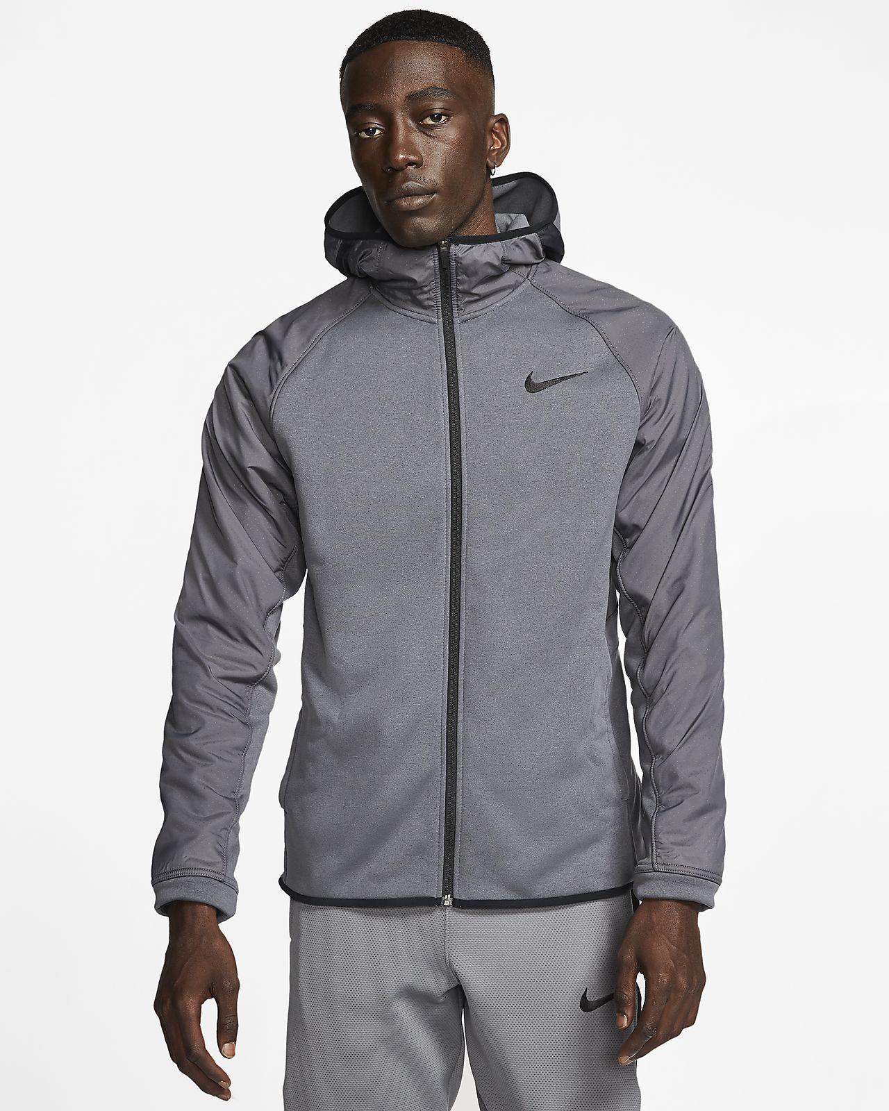 Nike Protect Men's Basketball Jacket Grey | Gray jacket