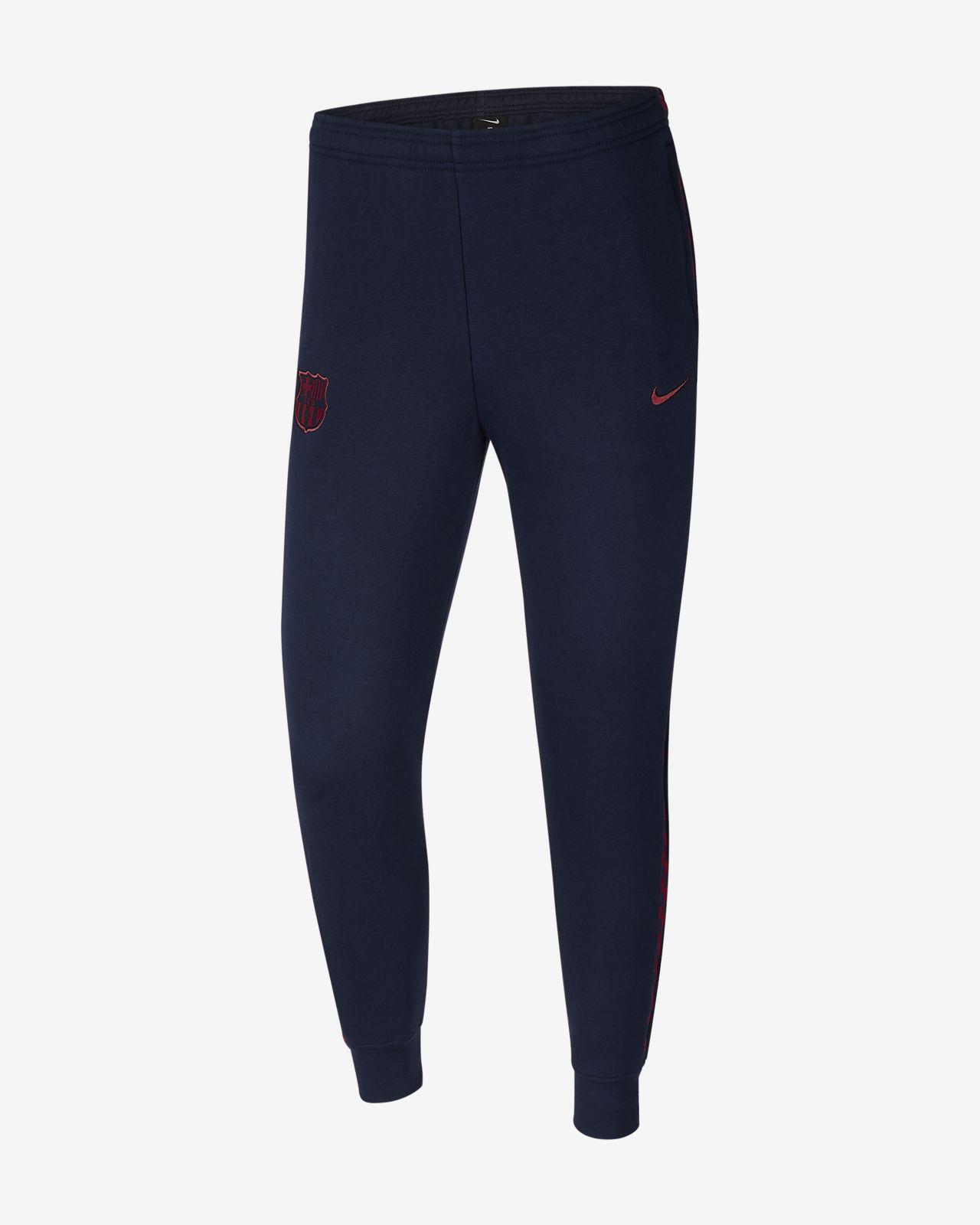 Męskie spodnie z dzianiny FC Barcelona