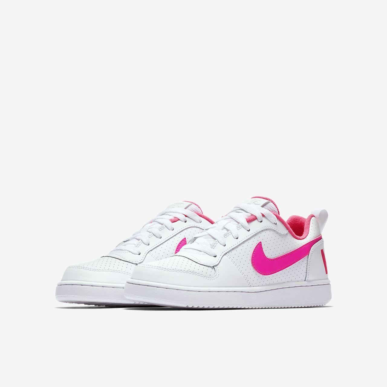 nike court borough low pink