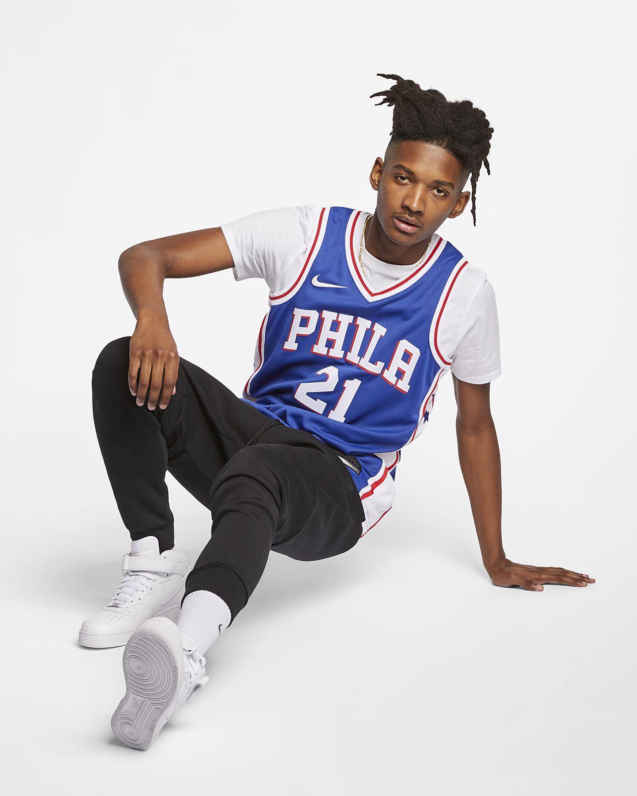 0b045380f1442 Joel Embiid Icon Edition Swingman (Philadelphia 76ers) Men's Nike NBA  Connected Jersey