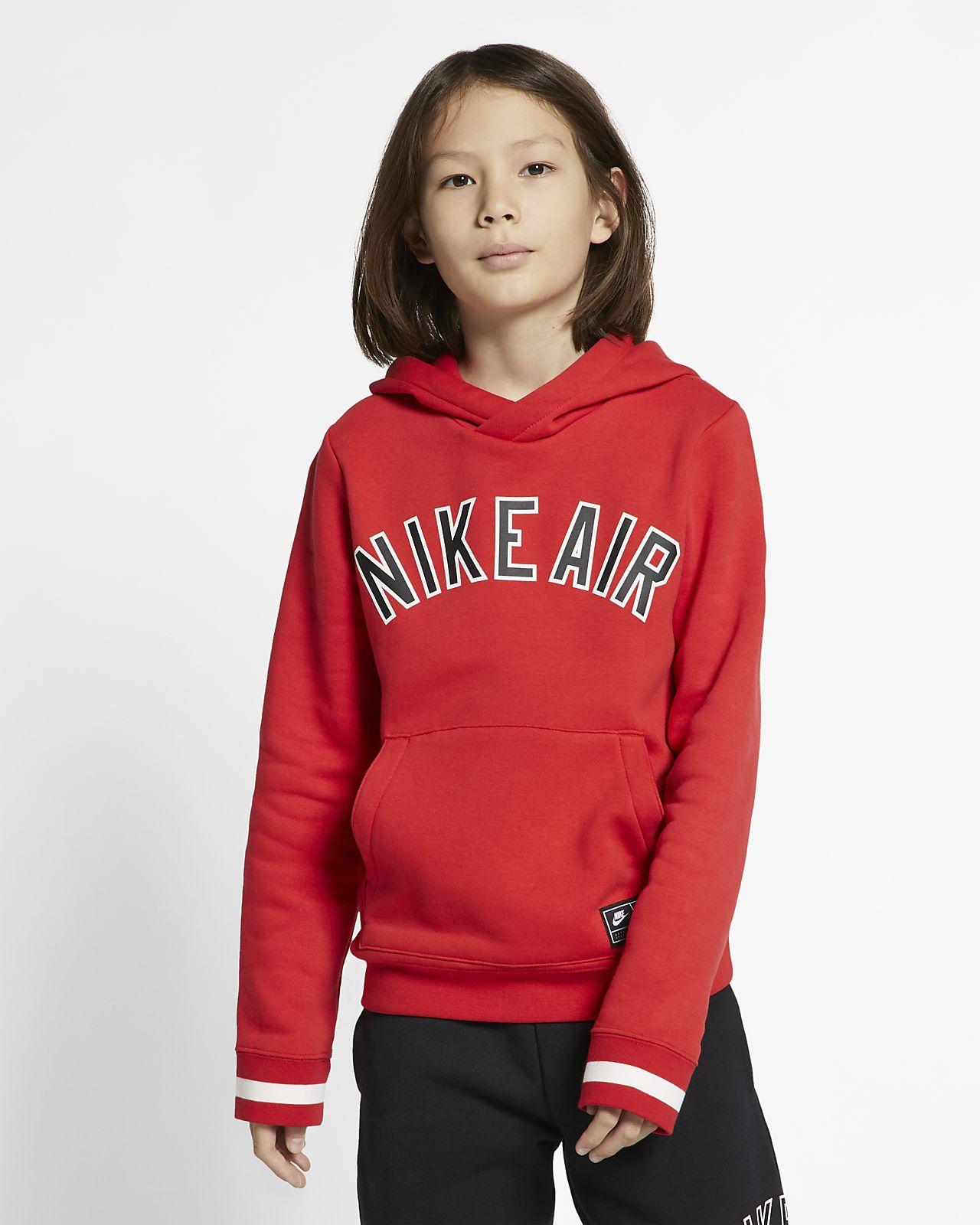 Sweat à capuche en tissu Fleece Nike Air pour Enfant plus âgé