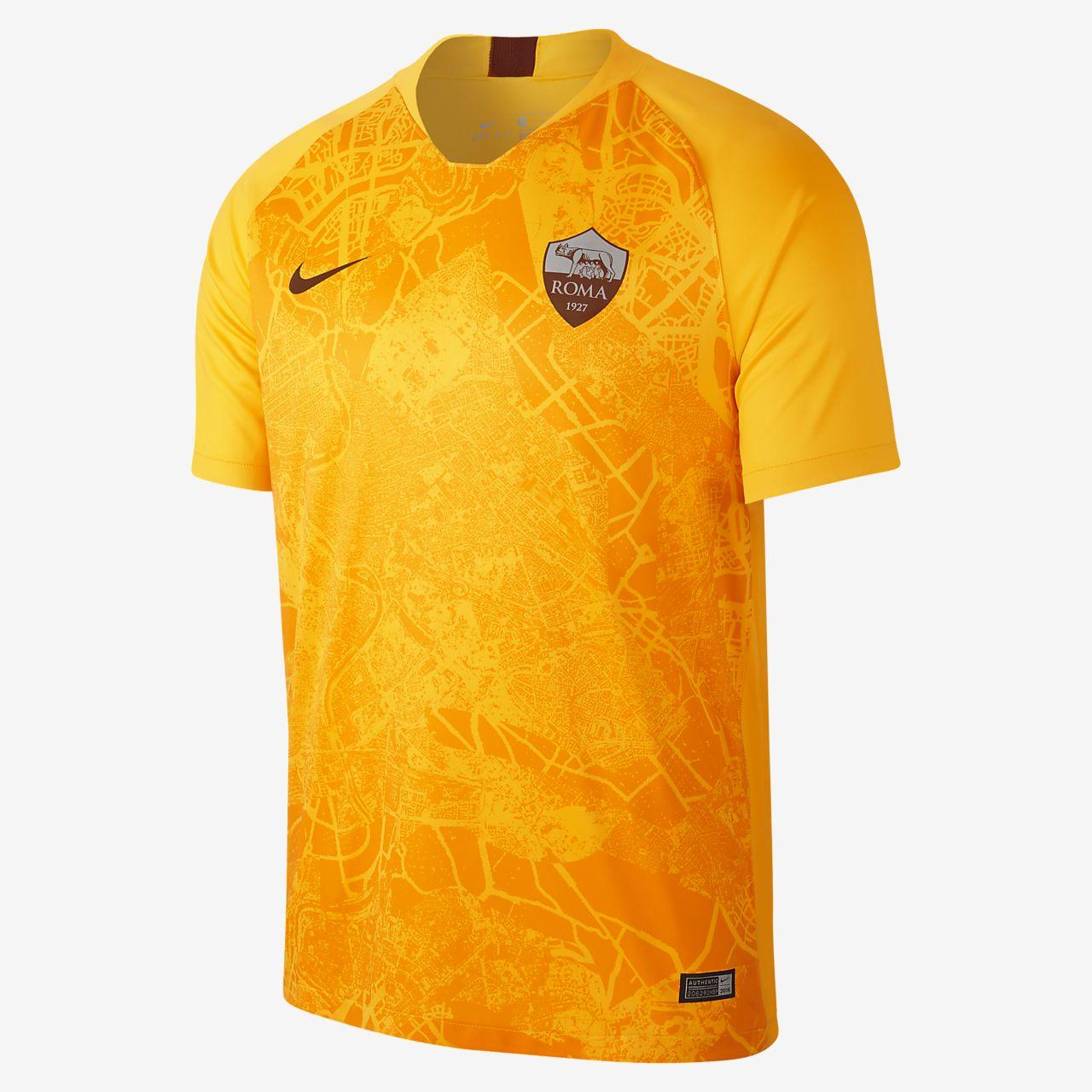 cbe81b754fb12 ... Camiseta de fútbol para hombre alternativa Stadium del A.S. Roma 2018 19