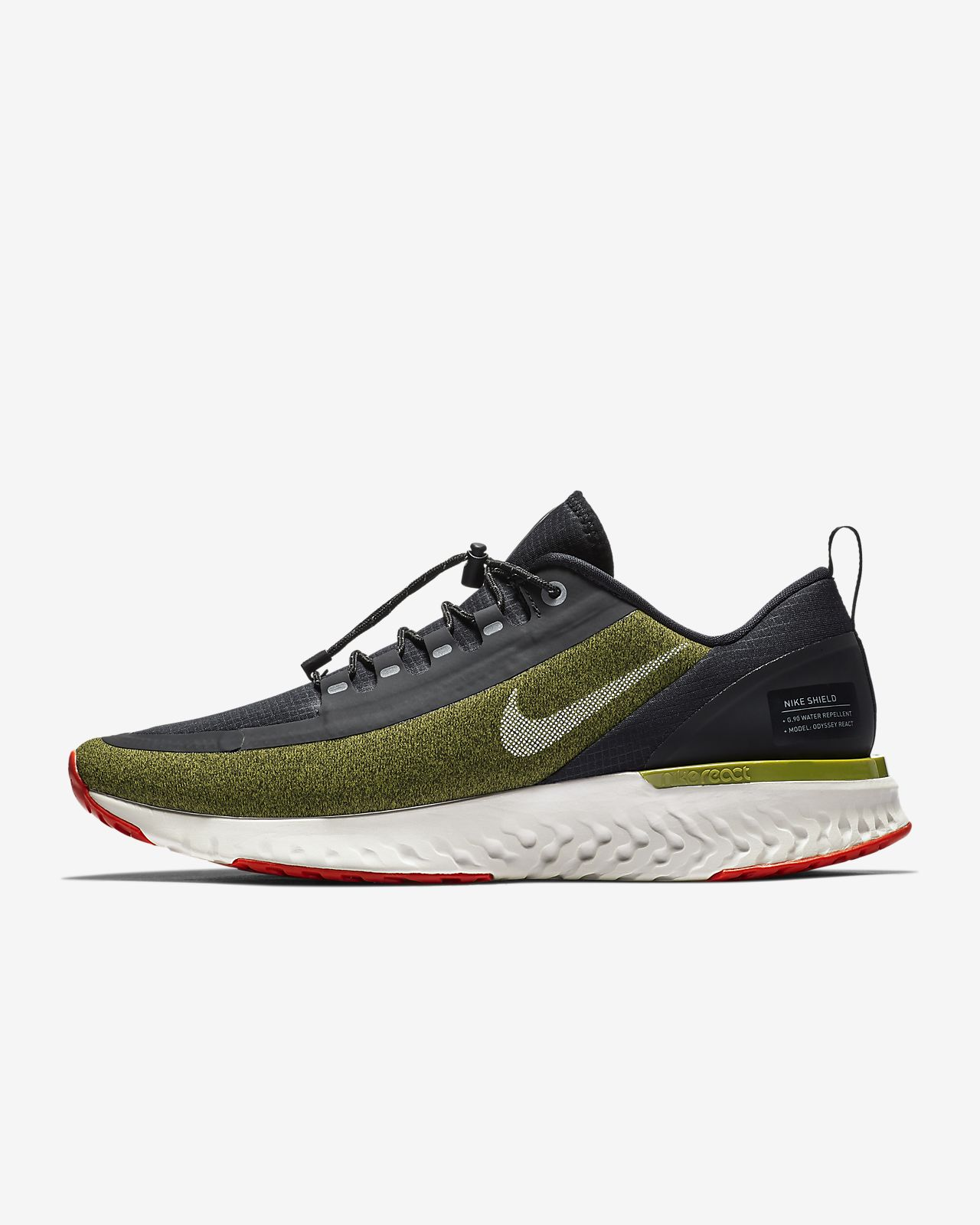 d6367546e7f8 Nike Odyssey React Shield Water-Repellent Men s Running Shoe. Nike ...