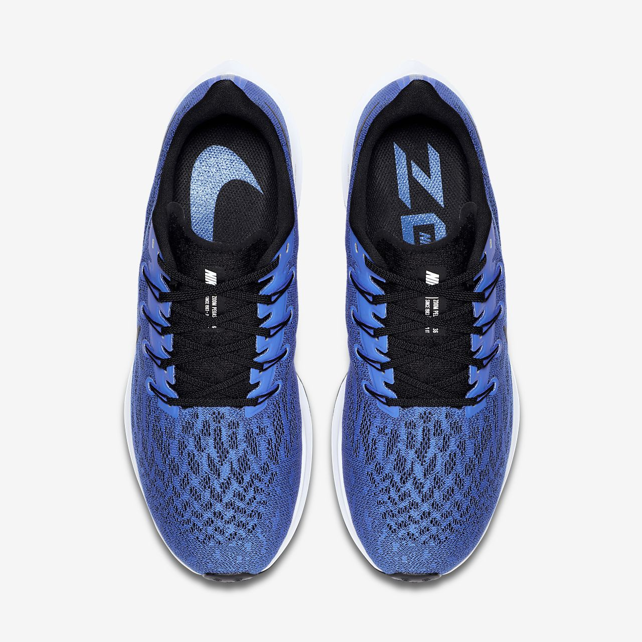 Zähler Nike Air Zoom Fly 2 Sportschuhe in Blau Herren