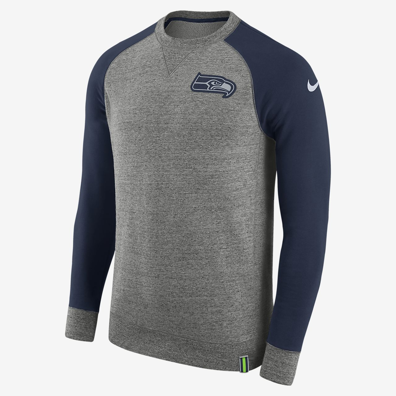 sweat shirt nike aw77 nfl seahawks pour homme be. Black Bedroom Furniture Sets. Home Design Ideas