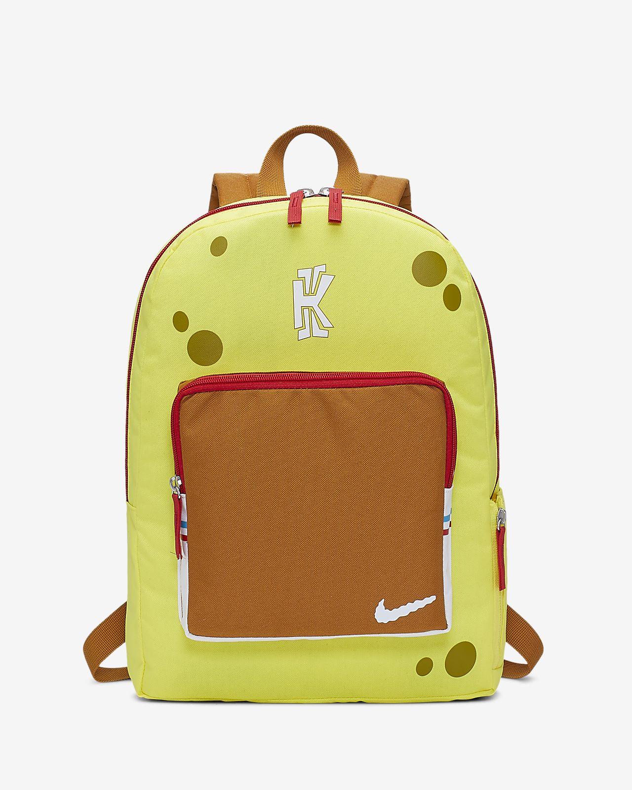 "Mochila para niños talla grande Nike Classic Kyrie ""Bob Esponja"""