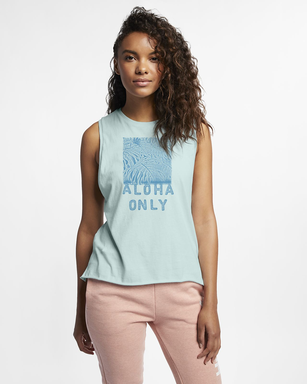 Hurley Aloha Only Camiseta de tirantes de ciclismo - Mujer