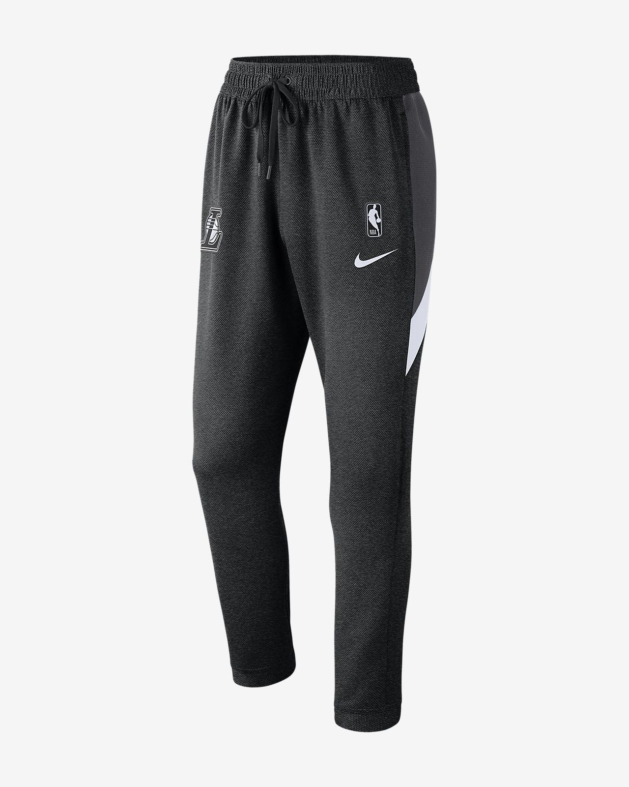Pantalon NBA Los Angeles Lakers Nike Therma Flex Showtime pour Homme