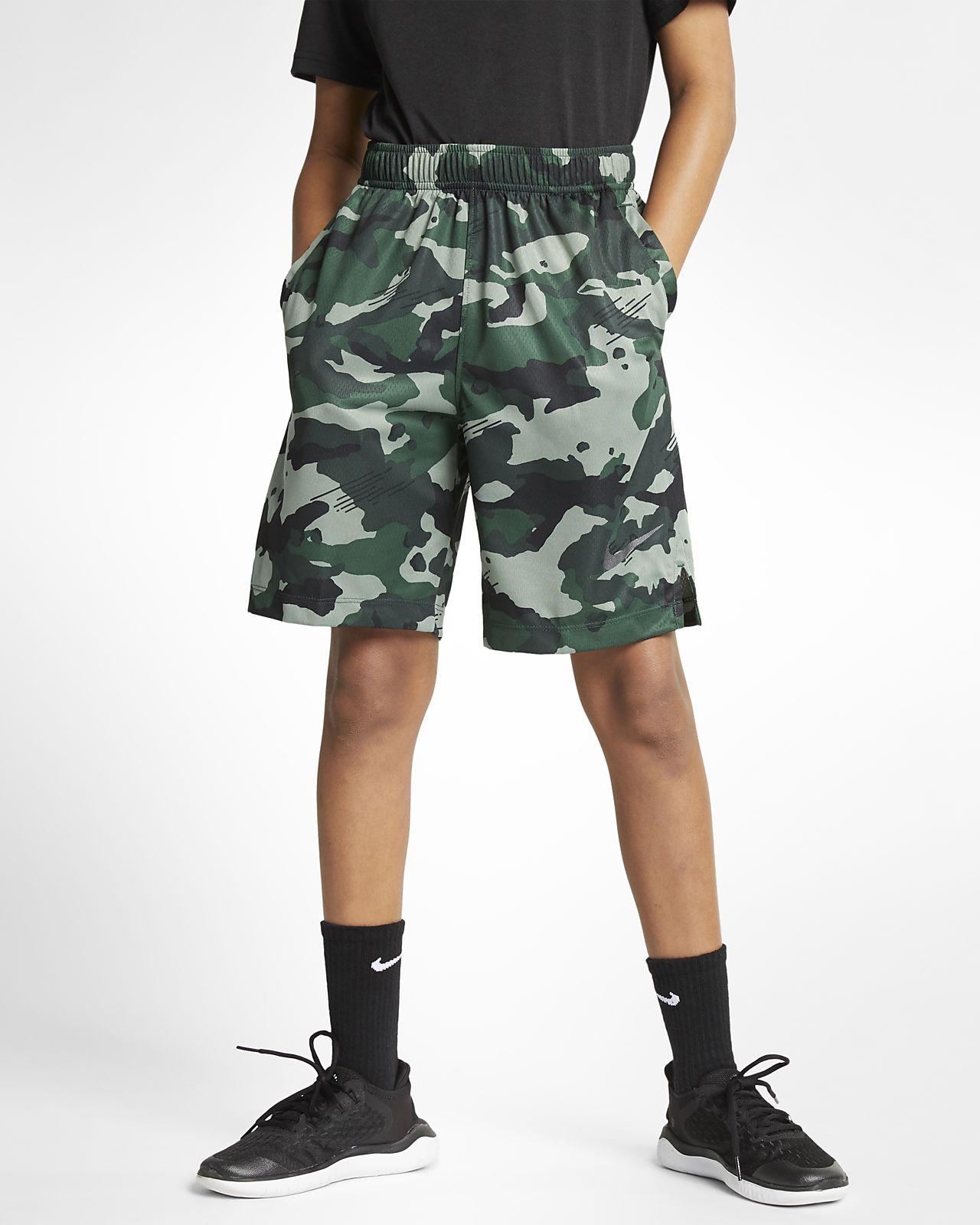 Nike Dri-FIT Big Kids' (Boys') Camo Training Shorts