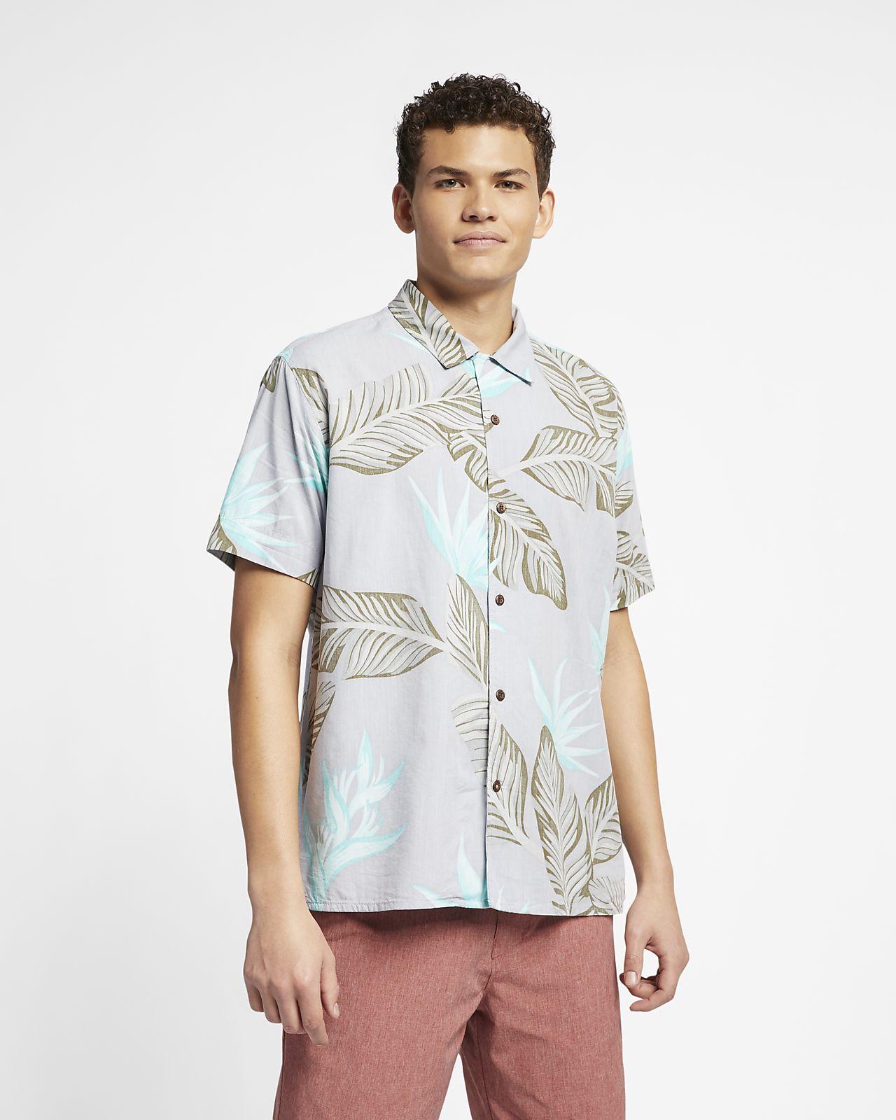 Camisa de manga curta Hurley Hanoi para homem