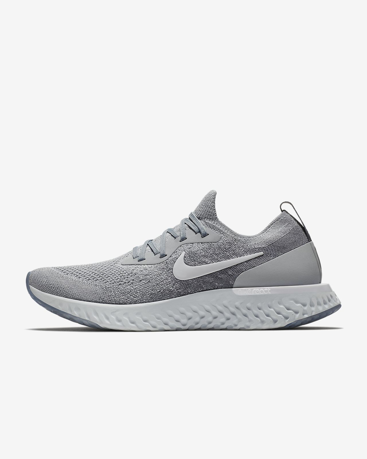 Nike Epic React Flyknit Mens Running Shoe
