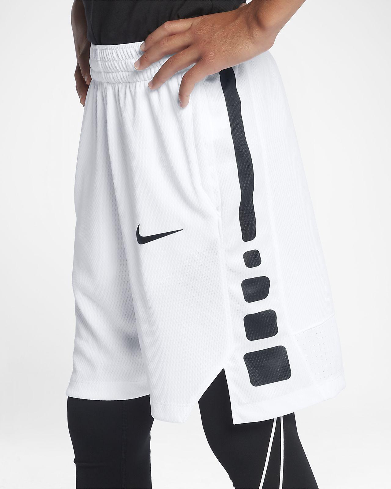 NIKE Boys Basketball Short Jordan Medium Polyester Black