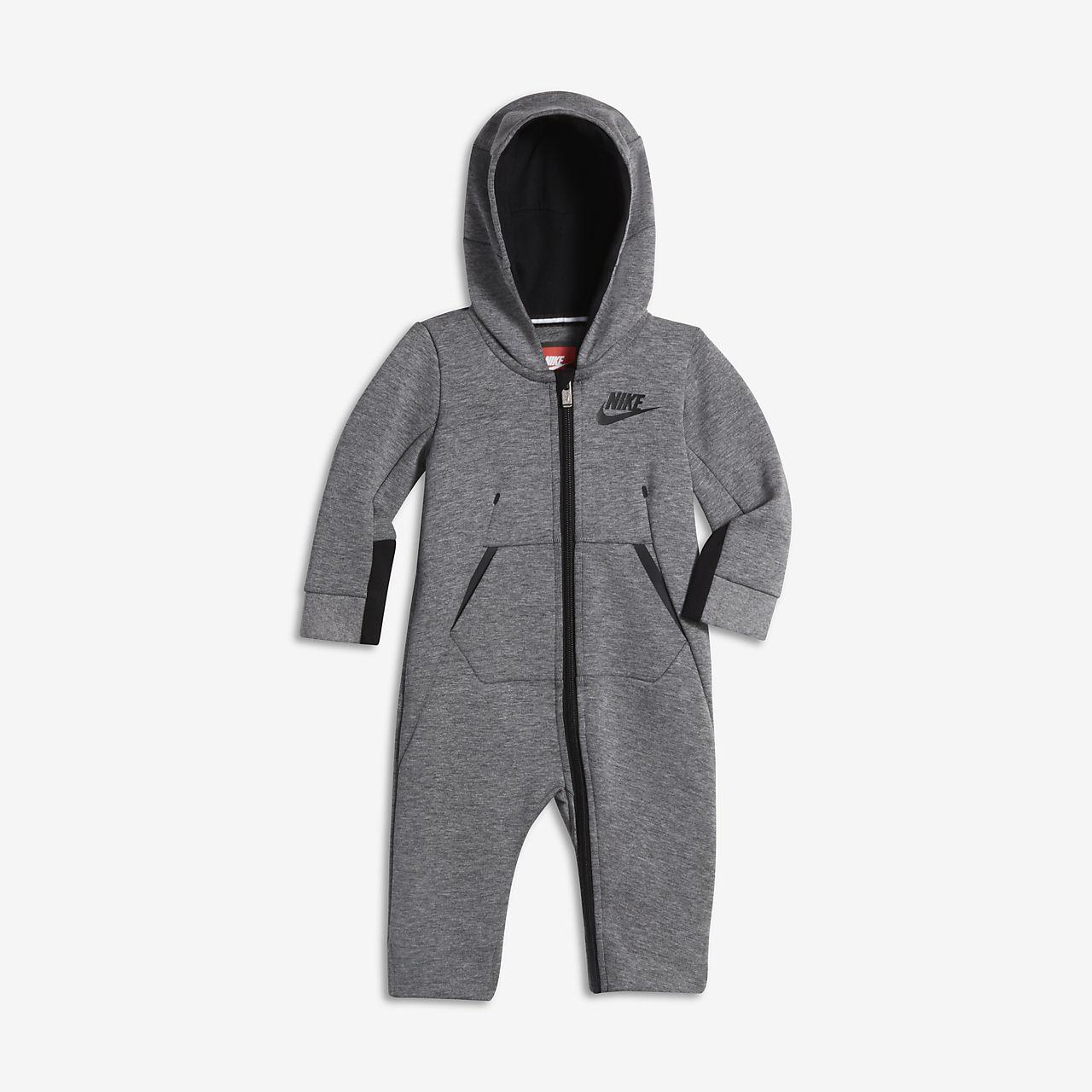 Nike Sportswear Tech Fleece Baby (0–9M) Full-Zip Overall