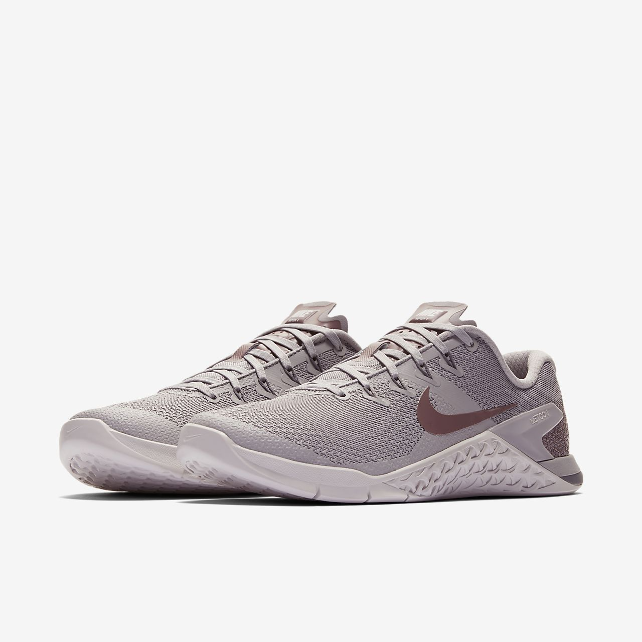 Nike Performance METCON 4 LM - Sports shoes - atmosphere grey/smokey mauve/vast grey/gunsmoke