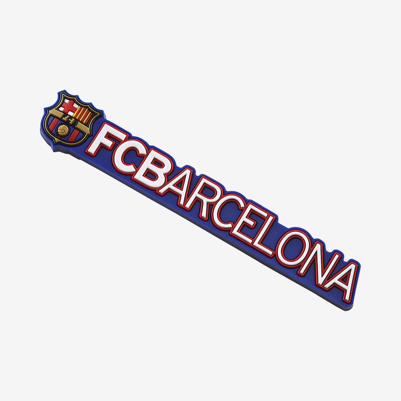 FC Barcelona Rubber Crest Logo Magnet