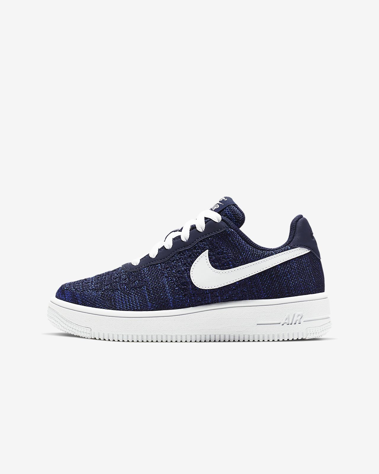 Nike Air Force 1 Flyknit 2.0-sko til små/store børn