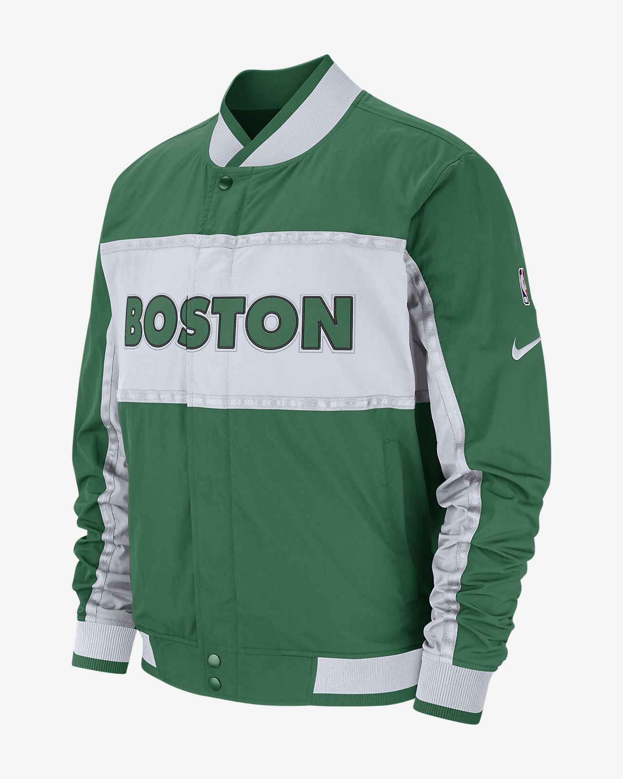 波士顿凯尔特人队 Nike Courtside 男子 NBA 夹克