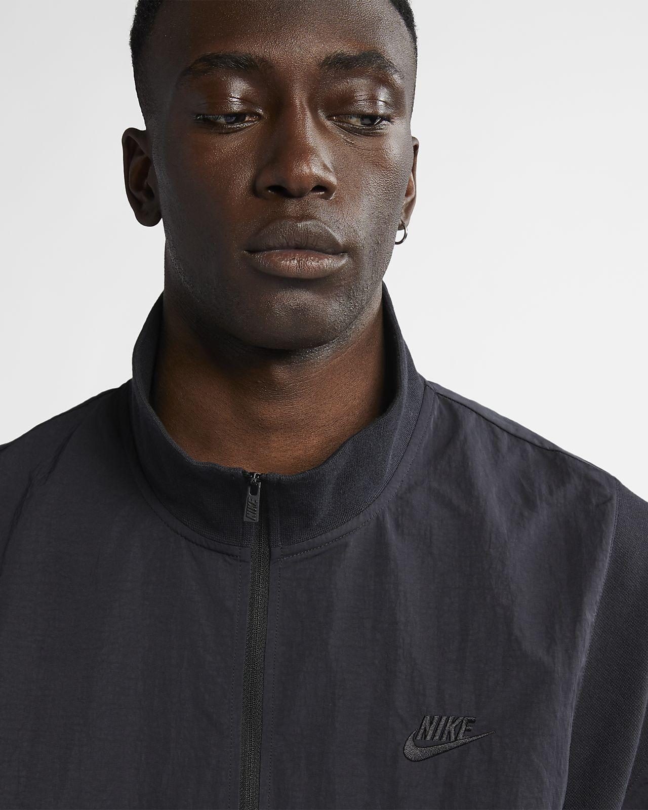 15f4aff901455 ... Męska kurtka z krótkim rękawem z zamkiem 1/2 Nike x Fear of God