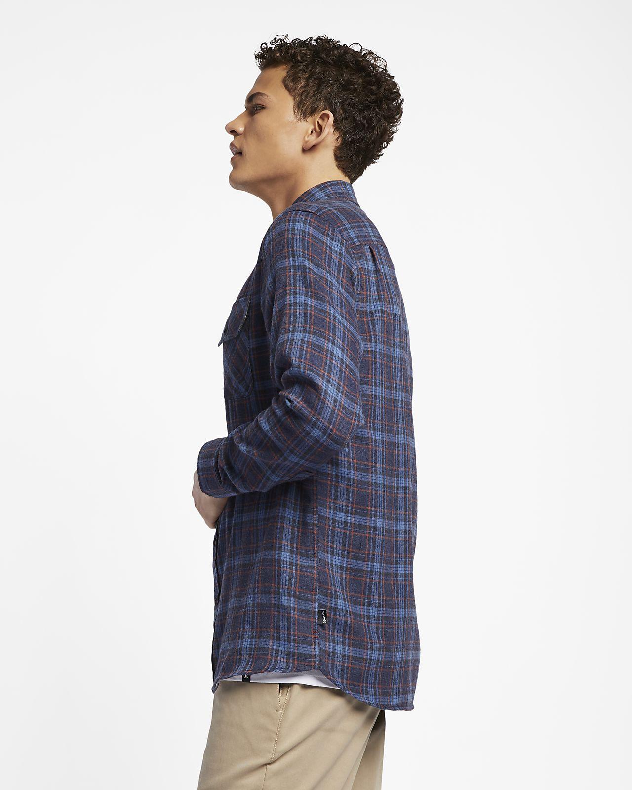 a4fe69f1dc9da7f Мужская фланелевая рубашка с длинным рукавом Hurley Walker. Nike.com RU
