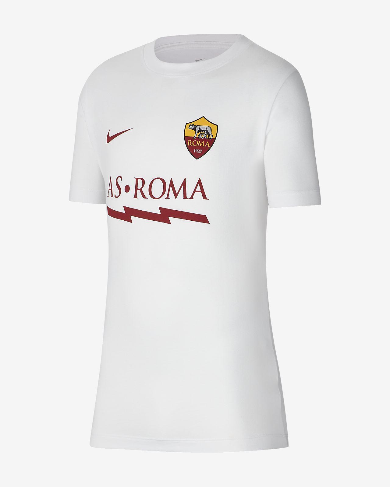 Playera de fútbol para niños talla grande A.S. Roma