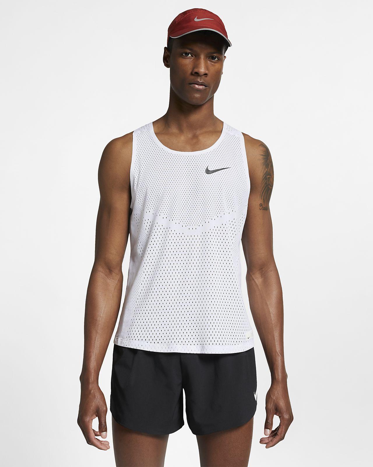 Nike AeroSwift (London) Lauf-Tanktop