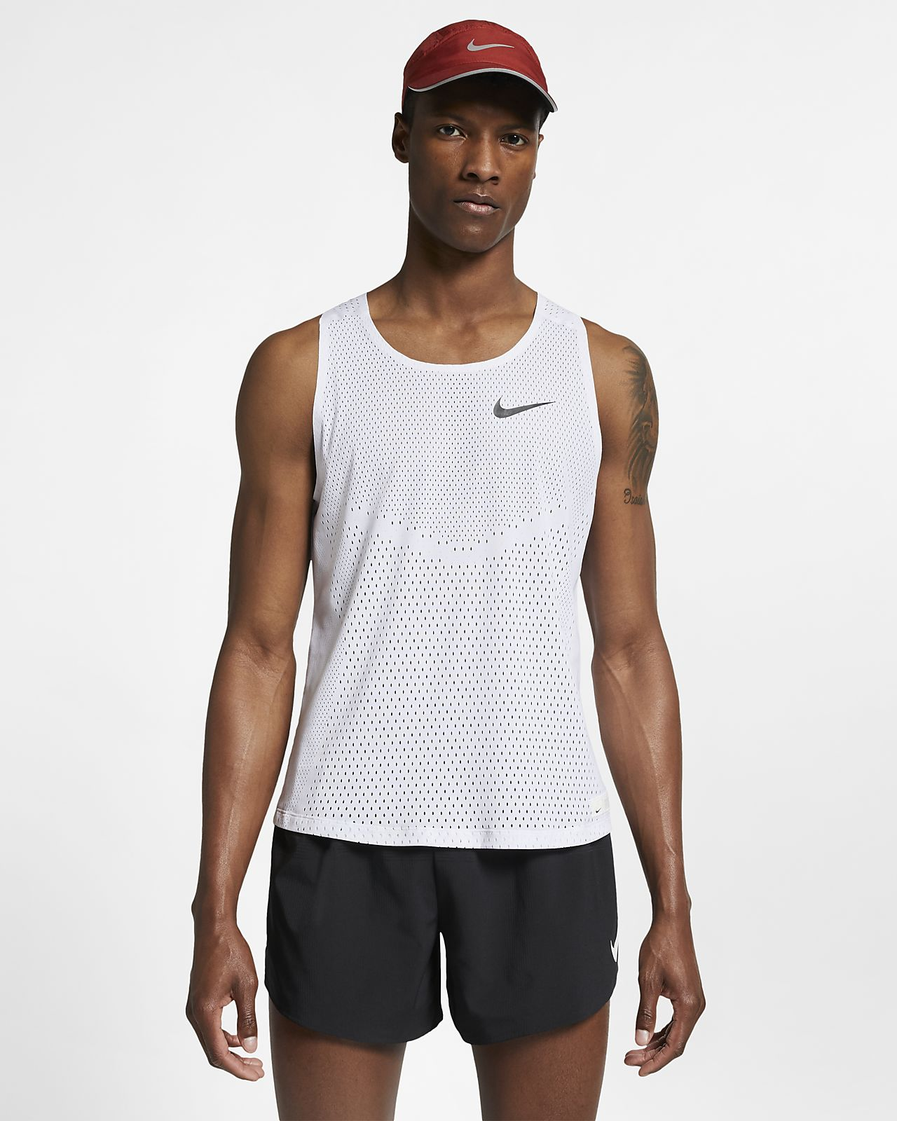 Canotta da running Nike AeroSwift (London)
