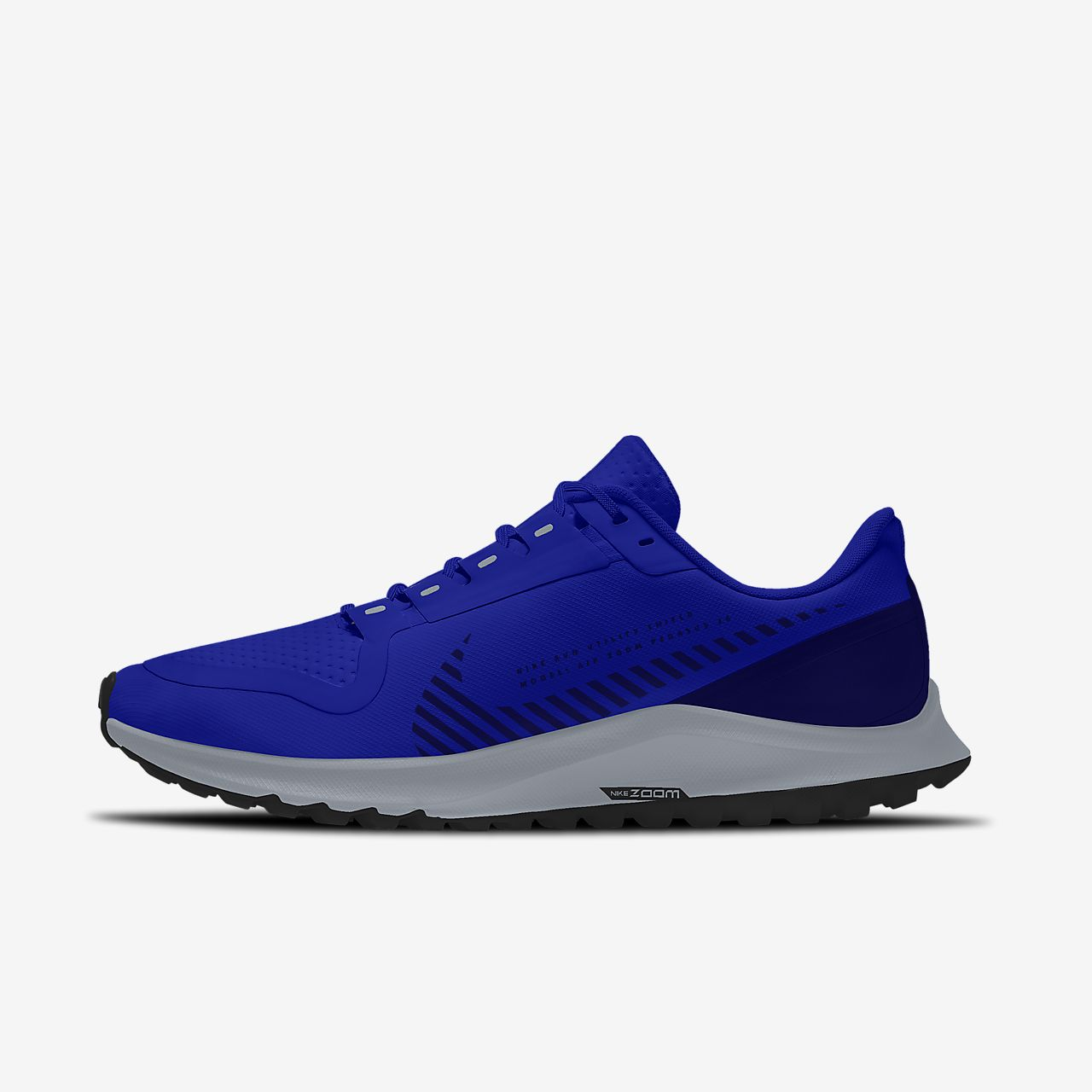 Nike Air Zoom Pegasus 36 Shield By You Custom Men's Running Shoe