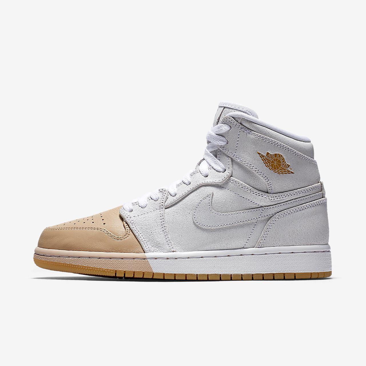 cheap for discount 8f8e7 0f6a6 Chaussure Nike Air Jordan 1 Retro High Premium pour Femme