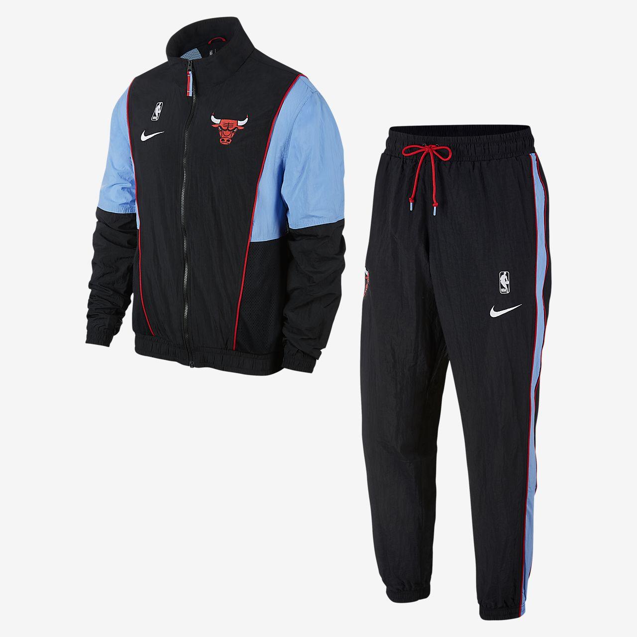 Conjunto de entrenamiento de la NBA para hombre Chicago Bulls Nike ... 2d14306d9cb