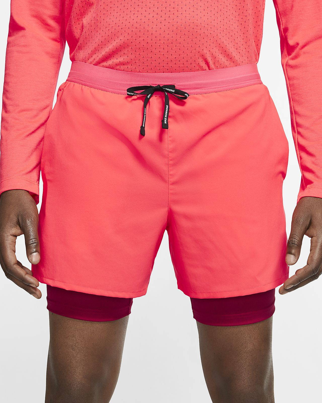 Shorts de running 2 en 1 de 13 cm para hombre Nike Flex Stride