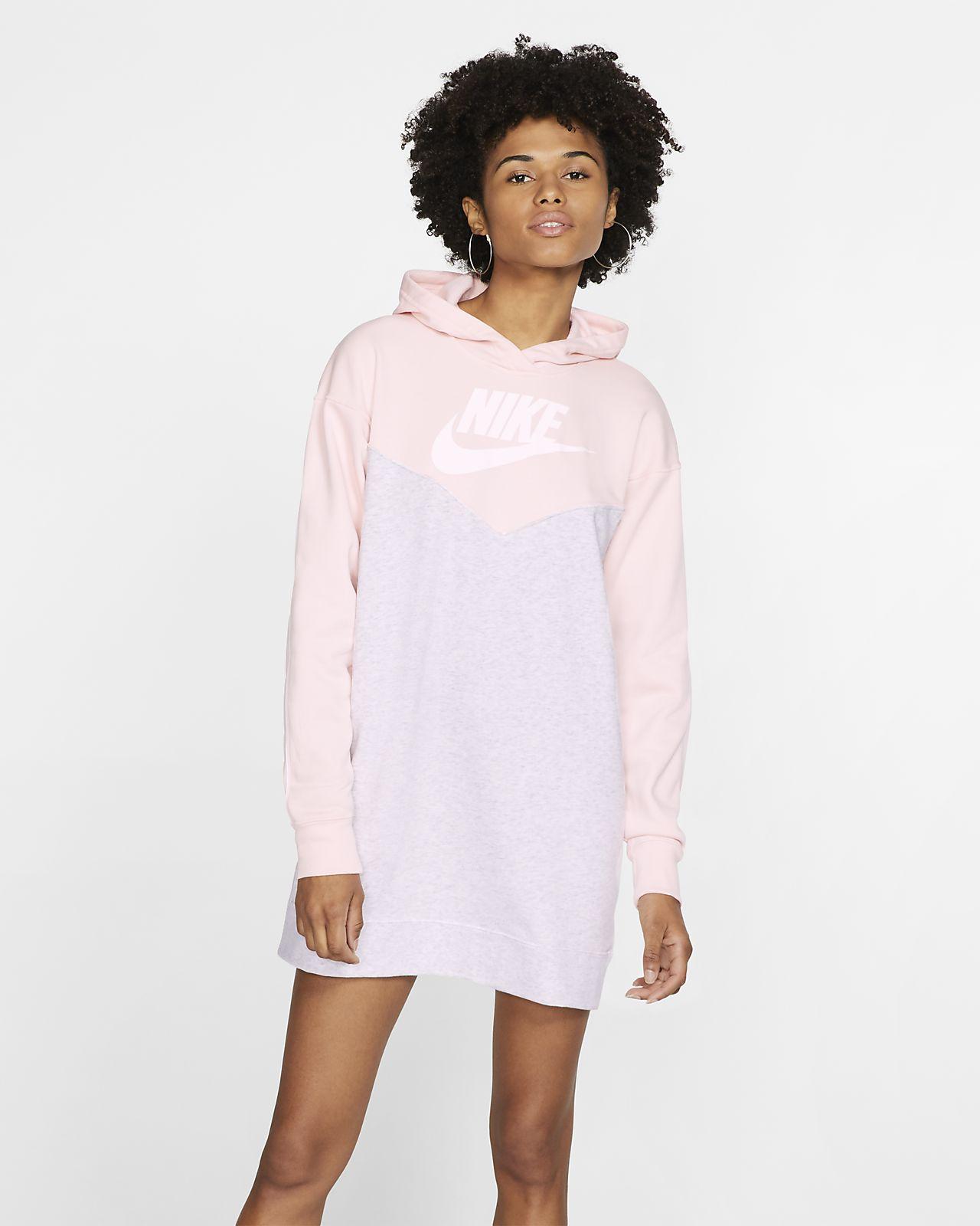Klänning med huva Nike Sportswear Heritage för kvinnor