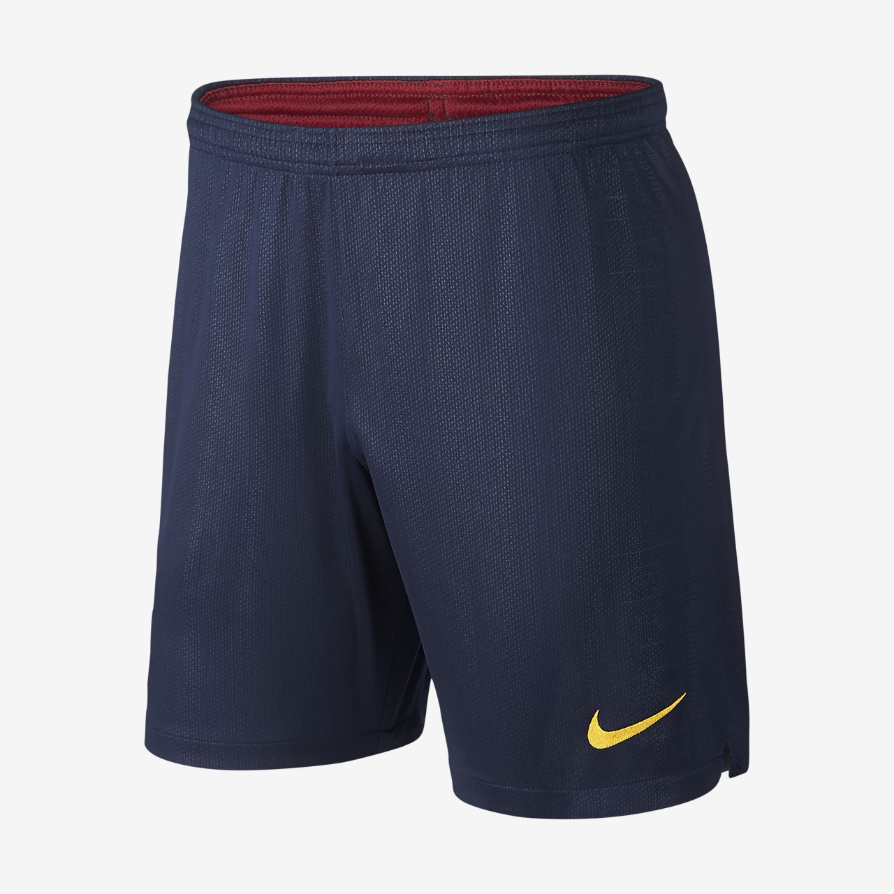 76dbdbd5ca169 Shorts de fútbol para hombre 2018 19 FC Barcelona Stadium Home. Nike ...