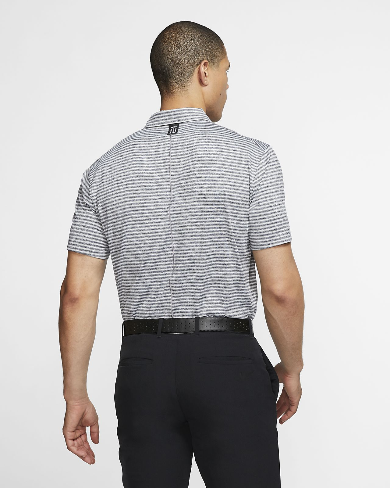 74b75ab6 Nike Dri-FIT Tiger Woods Vapor Men's Striped Golf Polo. Nike.com